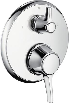 Термостат для ванны встраиваемый без встраиваемого механизма и без излива, хром Hansgrohe Ecostat Classic 15753000