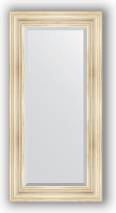 Зеркало с фацетом в багетной раме 59x119см травленое серебро 99мм Evoform BY 3497