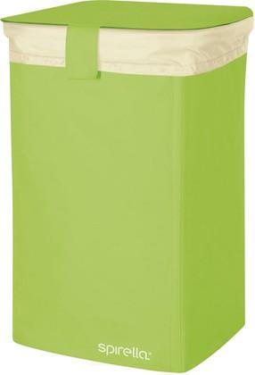 Корзина для белья 50л зелёная Spirella CLASSIC-L 1017862