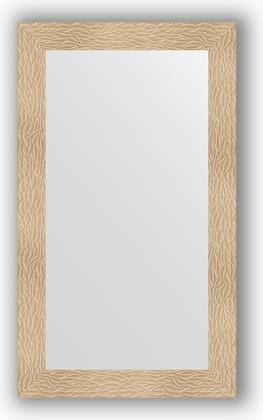 Зеркало в багетной раме 70x120см золотые дюны 90мм Evoform BY 3213