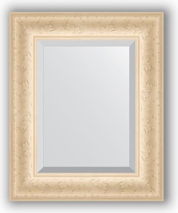 Зеркало 45x55см с фацетом 30мм в багетной раме старый гипс Evoform BY 1364