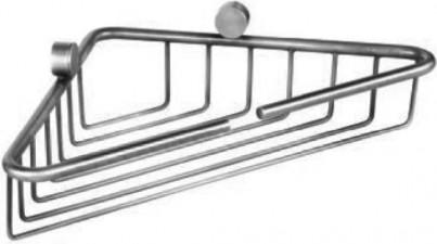 Полочка для ванной угловая TW Bristol 21x21x5см, хром TWBR534cr