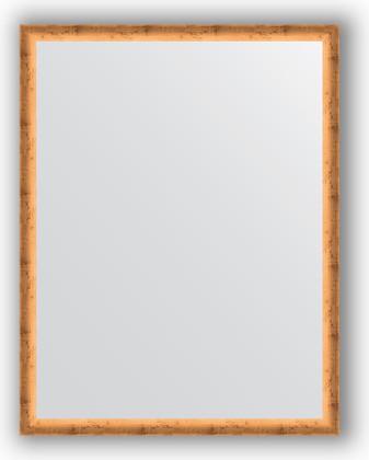 Зеркало 70x90см в багетной раме красная бронза Evoform BY 0682