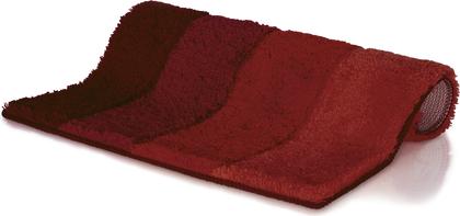Коврик для ванной Spirella Four, 60x90см, полиэстер/акрил, красный 1016169