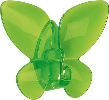 Крючок самоклеящийся зелёный Spirella Mariposa 1013949