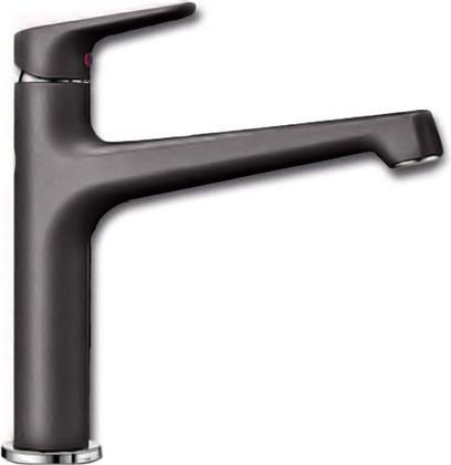 Смеситель кухонный однорычажный с высоким изливом, тёмная скала Blanco FELISA 520334