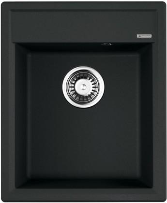 Кухонная мойка Omoikiri Daisen 42-BL, Artgranit, чёрный 4993606