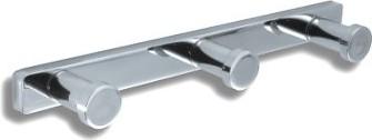 Крючок тройной хром Novaservis Metalia-4 6443.0
