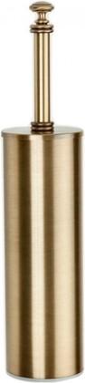 Ёрш для туалета напольный, белый/бронза TW Harmony TWHA020bi/br