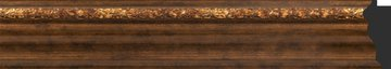 Зеркало с фацетом в багетной раме 66x96см римская бронза 88мм Evoform BY 3439