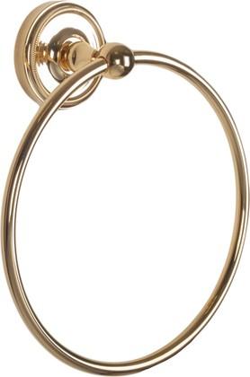 Держатель полотенца круглый, золото TW Bristol TWBR015oro