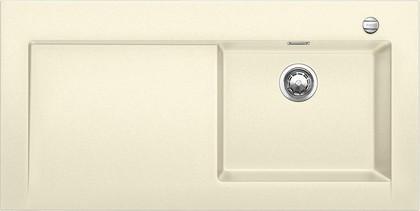 Кухонная мойка крыло слева, с клапаном-автоматом, гранит, жасмин Blanco MODEX-M 60 518332