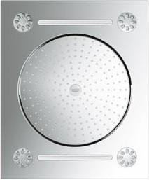 "Душ верхний, 3 вида струи, хром Grohe RAINSHOWER® F-Series 20"" 27939001"