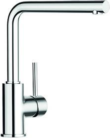 Смеситель кухонный однорычажный с выдвижным изливом, хром Blanco MILA-S 519810
