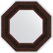 Зеркало Evoform Octagon 592x592 в багетной раме 99мм, тёмный прованс BY 3826