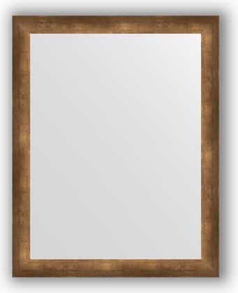 Зеркало 76x96см в багетной раме 66мм старая бронза Evoform BY 1045