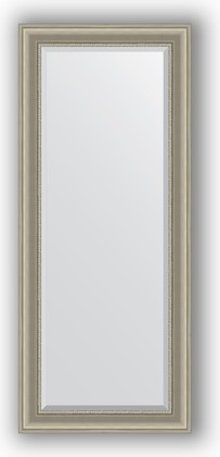 Зеркало 66x156см с фацетом 30мм в багетной раме хамелеон Evoform BY 1285