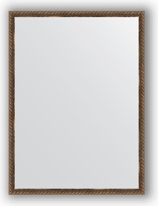 Зеркало 58x78см в багетной раме витая бронза Evoform BY 1002