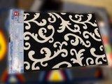 Коврик придверный 53x80см для помещения чёрный, полиамид Golze Concept Design 1670-42-09