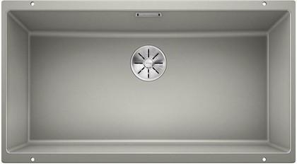 Кухонная мойка Blanco Subline 800-U, отводная арматура, жемчужный 523144