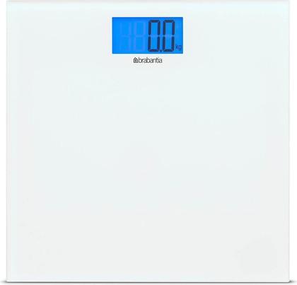 Весы электронные белые 180кг/100г Brabantia 483127