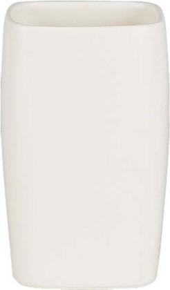 Стакан белый Spirella Retro 1008074