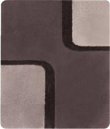 Коврик для ванной комнаты 55x65см коричневый Spirella Bond 1015167