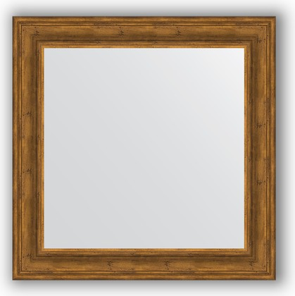 Зеркало в багетной раме 82x82см травленая бронза 99мм Evoform BY 3253