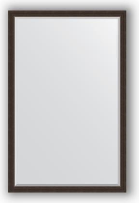 Зеркало 111x171см с фацетом 25мм в багетной раме палисандр Evoform BY 1214