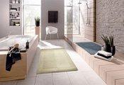 Коврик для туалета 55x55см натуральный Kleine Wolke Havanna 5418 129 202