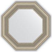 Зеркало Evoform Octagon 566x566 в багетной раме 88мм, хамелеон BY 3793