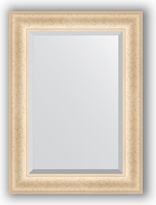 Зеркало 55x75см с фацетом 30мм в багетной раме старый гипс Evoform BY 1222