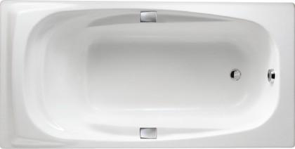 Ванна чугунная 180x90см с отверстиями для ручек, Antislip Jacob Delafon SUPER REPOS E2902-00