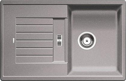 Кухонная мойка оборачиваемая с крылом, гранит, алюметаллик Blanco Zia 45 S 514725
