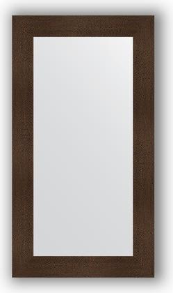 Зеркало в багетной раме 60x110см бронзовая лава 90мм Evoform BY 3088