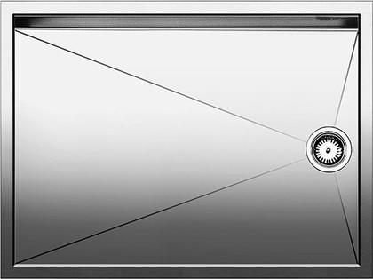 Кухонная мойка без крыла, нержавеющая сталь зеркальной полировки Blanco Zerox 550-T-IF 517275