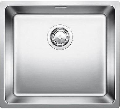 Кухонная мойка без крыла, с клапаном-автоматом, нержавеющая сталь полированная Blanco Andano 450-U 519374
