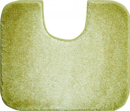 Коврик с вырезом под туалет 60x50см зелёный Grund Moon 2605.06.229