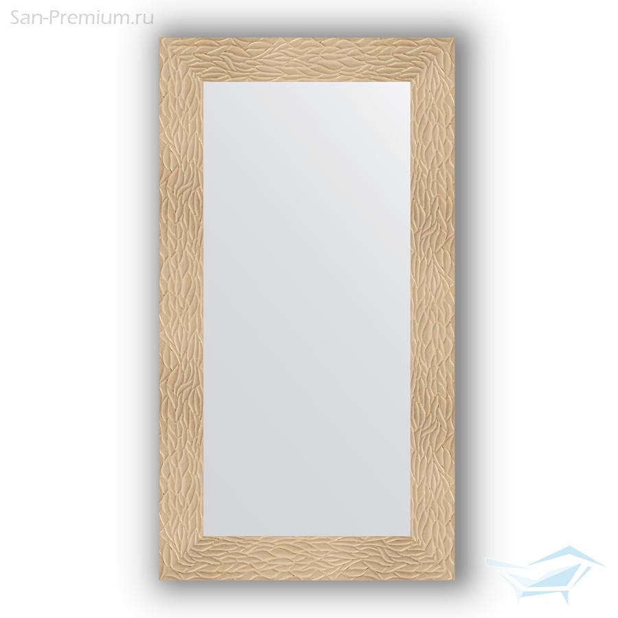 c90e93547b45 Зеркало в багетной раме 60x110см золотые дюны 90мм Evoform BY 3085 ...