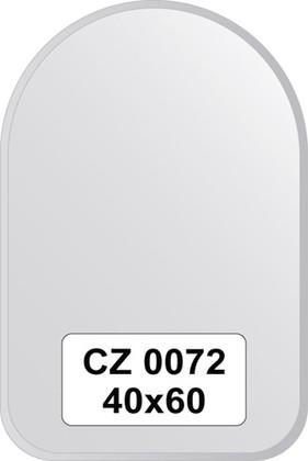 Зеркало для ванной 40x60см с фацетом 10мм FBS CZ 0072