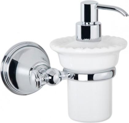 Дозатор для жидкого мыла керамический, хром TW Harmony TWHA108cr