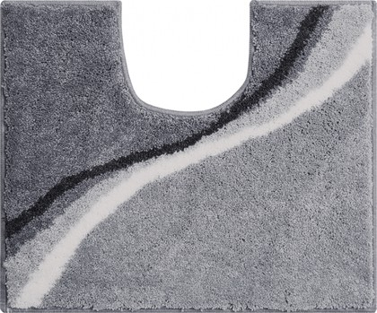 Коврик для туалета Grund Luca, 50x60см, полиакрил, серый b3742-006001096