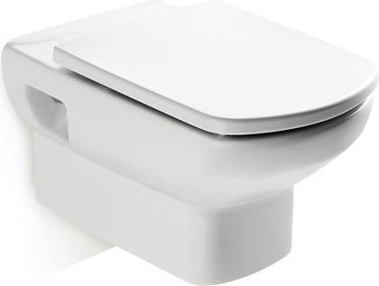Керамический подвесной унитаз с горизонтальным выпуском, белый Roca DAMA SENSO 346517000