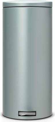 Мусорный бак 30л с педалью, MotionControl, мятный металлик Brabantia 484261