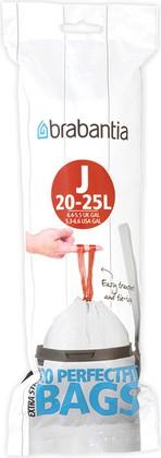 Мешки для мусора Brabantia PerfectFit 23л, размер J, 20шт 115585