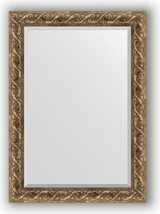 Зеркало 76x106см с фацетом 30мм в багетной раме фреска Evoform BY 1299