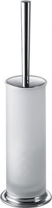 Туалетный ёрш со стеклянной колбой и напольным держателем, сатин Colombo LINK B2406.SAT