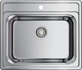 Кухонная мойка Omoikiri Ashi 56-IN, нержавеющая сталь 4993449