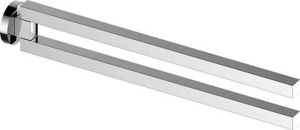 Полотенцедержатель Keuco Edition 90 двойной, поворотный, 450мм, хром 19018 010000