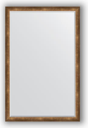 Зеркало 112x172см с фацетом 30мм в багетной раме старая бронза Evoform BY 1218